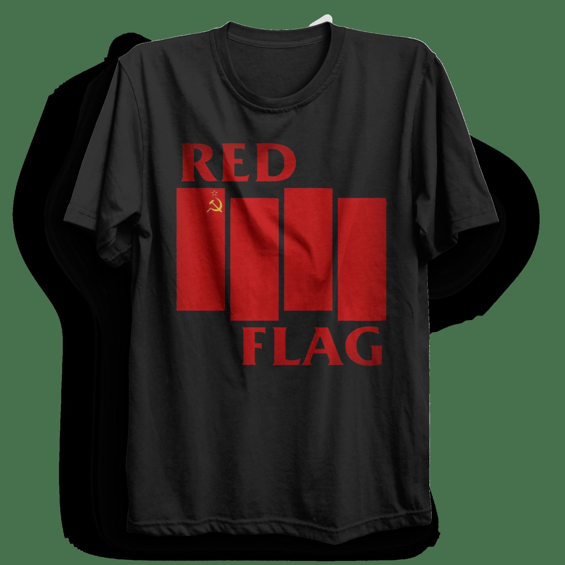 Black flag t shirt uk - Redflag